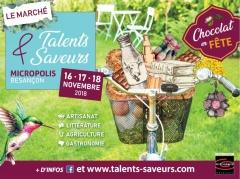 Affichette Talents et Saveurs 2018
